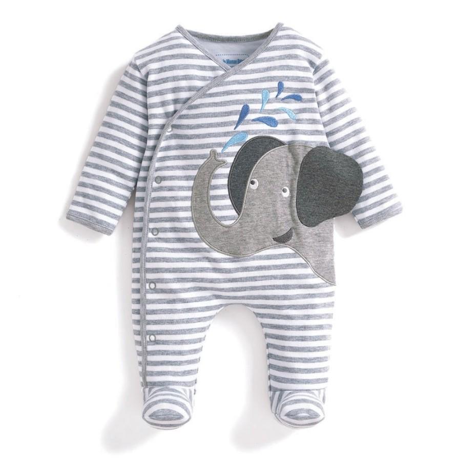 b92b974a1 Cream Ditsy Floral Peter Pan Baby Bodysuit - Bump & me